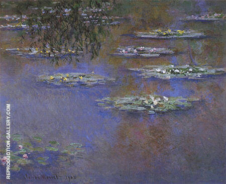 Water Lilies 1903_657 By Claude Monet - Oil Paintings & Art Reproductions - Reproduction Gallery
