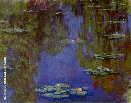 Water Lilies 1903_660 By Claude Monet Replica Paintings on Canvas - Reproduction Gallery