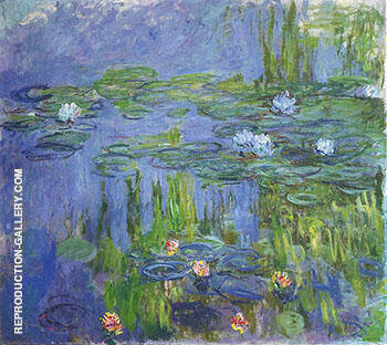 Water Lilies 1908_795 By Claude Monet - Oil Paintings & Art Reproductions - Reproduction Gallery