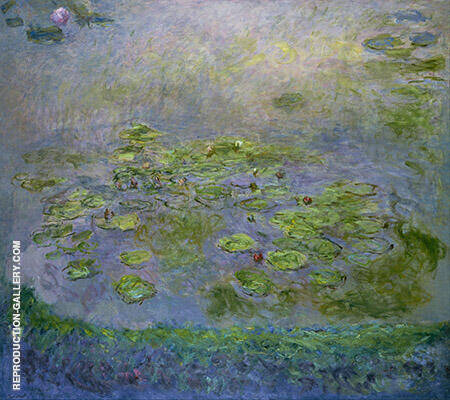 Water Lilies 1916_807 By Claude Monet - Oil Paintings & Art Reproductions - Reproduction Gallery