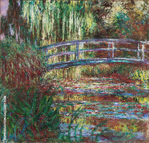 Water Lily Pond 1900_630 By Claude Monet Replica Paintings on Canvas - Reproduction Gallery