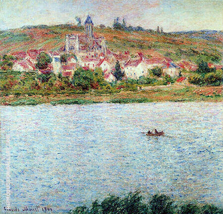 Vetheuil Morning Effect 1901_636 By Claude Monet Replica Paintings on Canvas - Reproduction Gallery