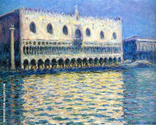 Palazzo Ducale 1908_743 Painting By Claude Monet - Reproduction Gallery