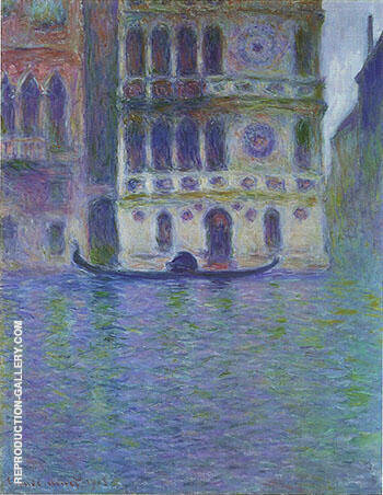 Reproduction of The Palazzo Dario 1908_759 by Claude Monet | Oil Painting Replica On CanvasReproduction Gallery