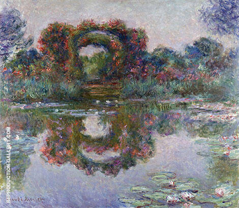 The Flowered Arches at Giverny 1913779 By Claude Monet