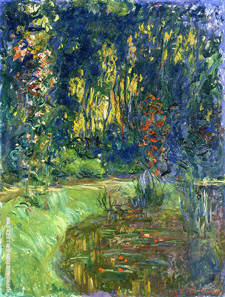 The Water Lily Pond 1919_879 By Claude Monet Replica Paintings on Canvas - Reproduction Gallery