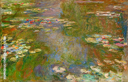 The Water Lily Pond 1919_889 By Claude Monet Replica Paintings on Canvas - Reproduction Gallery