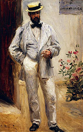 Charles Le Coeur 1871 By Pierre Auguste Renoir