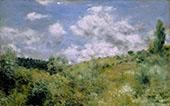 The Gust of Wind c1872 By Pierre Auguste Renoir