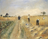 The Harvesters 1873 By Pierre Auguste Renoir
