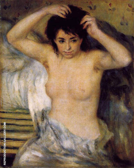 Torso c 1873 By Pierre Auguste Renoir - Oil Paintings & Art Reproductions - Reproduction Gallery