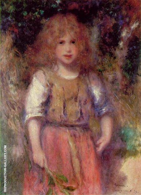 Gypsy Girl Wargemont 1879 By Pierre Auguste Renoir