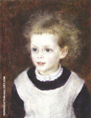 Marguerite Berard 1879 By Pierre Auguste Renoir - Oil Paintings & Art Reproductions - Reproduction Gallery