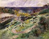 Landscape at Wargemont 1879 By Pierre Auguste Renoir