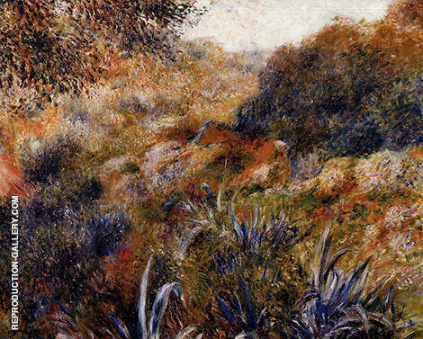 Algerian Landscape The Ravine of the Wild Woman 1881 By Pierre Auguste Renoir - Oil Paintings & Art Reproductions - Reproduction Gallery
