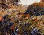 Algerian Landscape The Ravine of the Wild Woman 1881 By Pierre Auguste Renoir