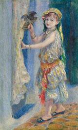 Mademoiselle Fleury in Algerian Costume 1882 By Pierre Auguste Renoir