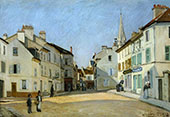 Square in Argenteuil 1872 By Alfred Sisley