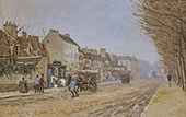 Boulevard Heloise Argenteuil 1872 By Alfred Sisley