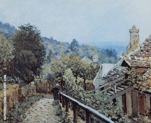 Sentier de la Mi cote Louveciennes 1873 By Alfred Sisley