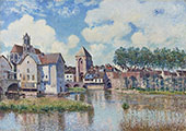 Moret sur Loing 1891 By Alfred Sisley