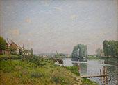 The L'ile Saint Denis 1872 By Alfred Sisley