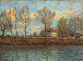 Island of the Grande Jatte 1873 By Alfred Sisley