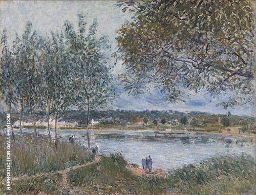 Path to the Old Ferry at By 1880 By Alfred Sisley