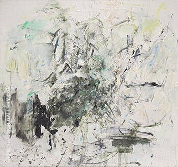 Chamonix By Joan Mitchell