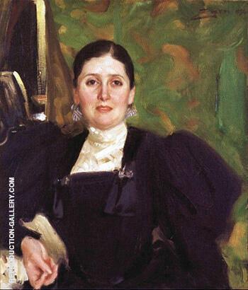 Martha Liebermann 1896 By Anders Zorn