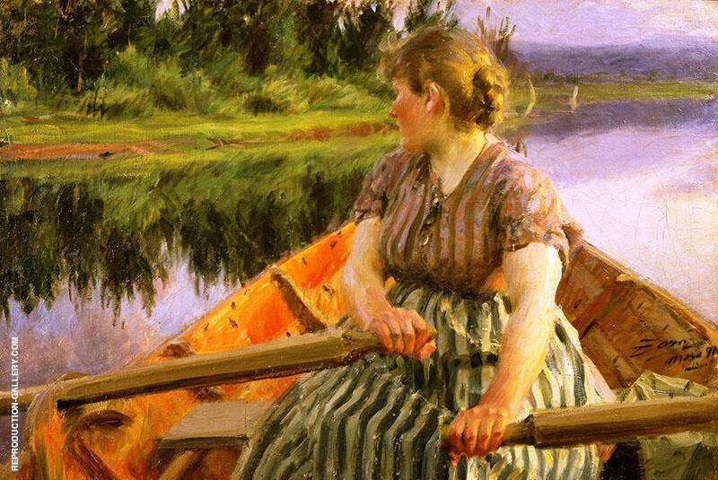 Midnight 1891 By Anders Zorn