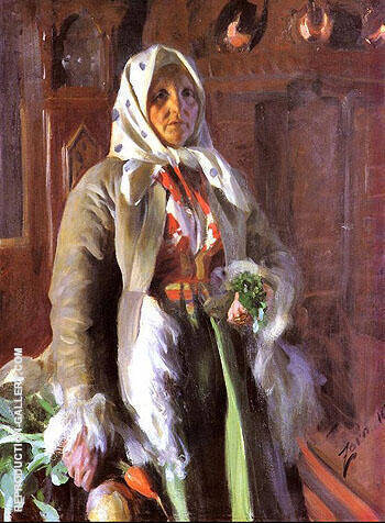Mona 1898 By Anders Zorn - Oil Paintings & Art Reproductions - Reproduction Gallery