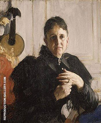 Mrs John Crosby Brown c 1900 By Anders Zorn