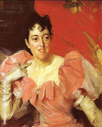 Mrs Walter Bacon By Anders Zorn - Oil Paintings & Art Reproductions - Reproduction Gallery