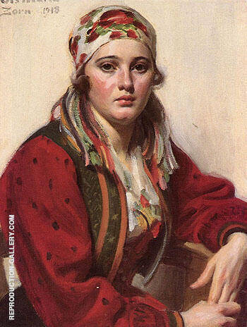 Ols Maria By Anders Zorn