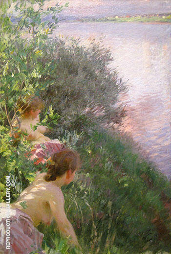 Opal 1891 By Anders Zorn - Oil Paintings & Art Reproductions - Reproduction Gallery