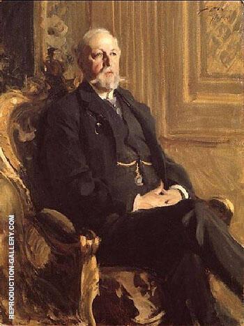 Oscar II 1898 By Anders Zorn