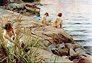 Out 1888 By Anders Zorn