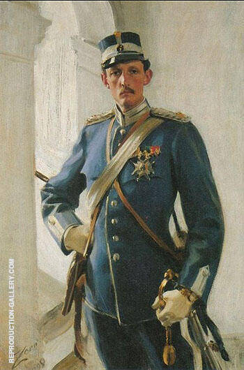 Prins Carl 1898 By Anders Zorn