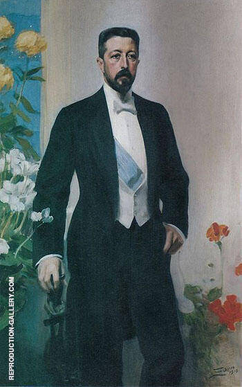 Prins Eugen 1910 By Anders Zorn