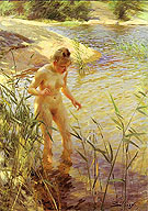 Reflexions 1889 By Anders Zorn