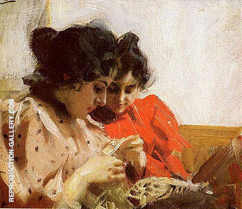 Spetssom 1894 By Anders Zorn