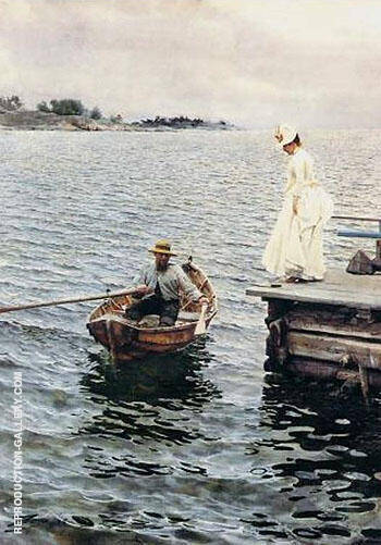 Summer Fun 1886 By Anders Zorn