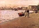 Utsikt Fran Skeppsholmskajen1890 By Anders Zorn