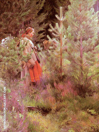 Vallkulla 1908 By Anders Zorn