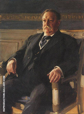 Reproduction of William Howard Taft 1911 by Anders Zorn | Oil Painting Replica On CanvasReproduction Gallery