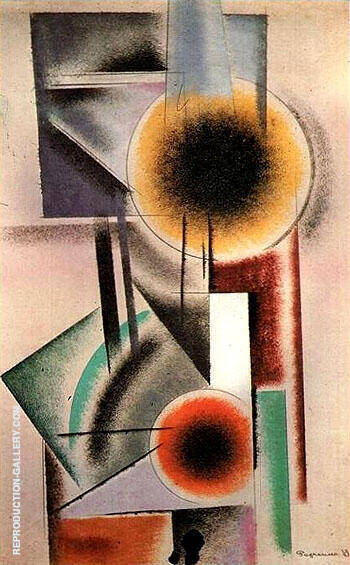 Composition 1919 I By Aleksandr Rodchenko - Oil Paintings & Art Reproductions - Reproduction Gallery