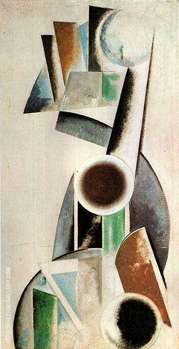 Composition 1920 By Aleksandr Rodchenko Replica Paintings on Canvas - Reproduction Gallery
