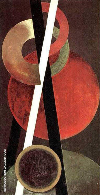 Composition 1920 I By Aleksandr Rodchenko Replica Paintings on Canvas - Reproduction Gallery