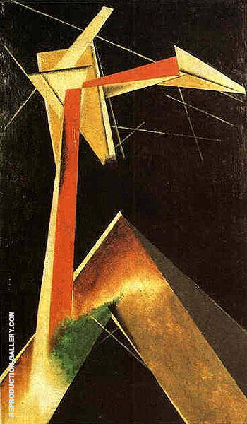 Composition 1920 III By Aleksandr Rodchenko Replica Paintings on Canvas - Reproduction Gallery